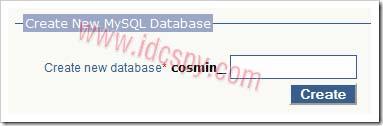 Create-database-lpcp