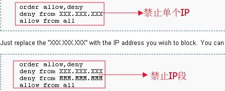 LunarPages主机设置IP拒绝管理器